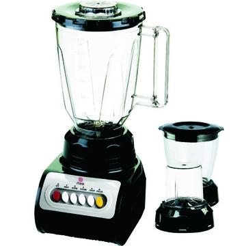 Mika Kitchen BLENDER 1.5L WITH CHOPPER & GRINDER-MBLR2999BL