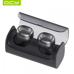 QCY Q29 TWS Bluetooth Earphone Sport Running Wireless Headset Noise Reduction 3D Stereo Earbuds black