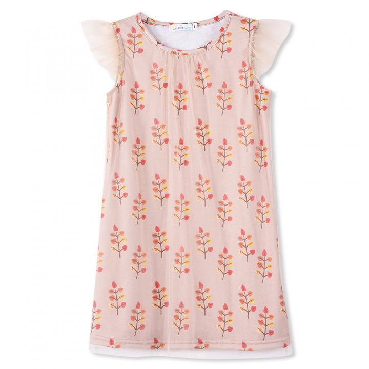 af18d1db3 Sunshine Swing Dress Multi Tree Print Clothing Baby Girl Cgildren's  Sleeveless Summer Vestido Dress as picture