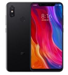 New Original Xiaomi MI 8 6GB RAM 128GB ROM Snapdragon S845 Octa Core Mobile Phone 3400mAh black  6+64gb