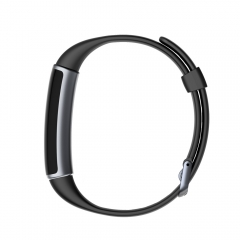 ID130 smart bracelet sleep monitoring Bluetooth sports step counter health smart products black one size