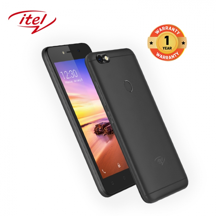 "Itel A32F 10TH,5"",8GB,smart phone midnight black"