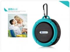 Shower Speaker, Wireless Waterproof Speaker Suction Cup, Built-in Mic, Hands-Free Speakerphon blue NORMAL