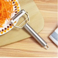 Multifunction Stainless Steel Julienne Peeler Vegetable Peeler Double Planing Grater one color no size