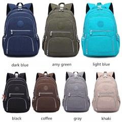 Backpack for Teenage Girls Female Mochila Feminina Mujer Laptop Bagpack Travel Bags black one size