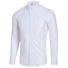 Corduroy large size leisure long sleeve autumn and winter business fashion men's undergarment white m