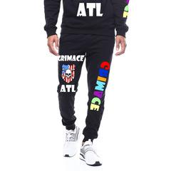 Men's casual sports pants harlan fashion pants trend pants black m