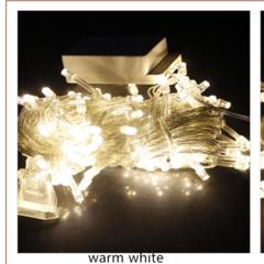 LED lights flash light series outdoor waterproof star decoration lights Christmas lights warmu00a0whiteu00a0 10m