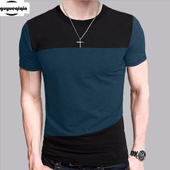 Mens T Shirt Slim Fit Crew Neck T-shirt Men Short Sleeve Shirt Casual tshirt Tee Tops Short Shirt