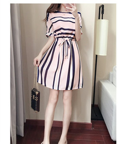 New special sales minimum price dress stripes dress straight down 1000 current price KSH499 l the picture color
