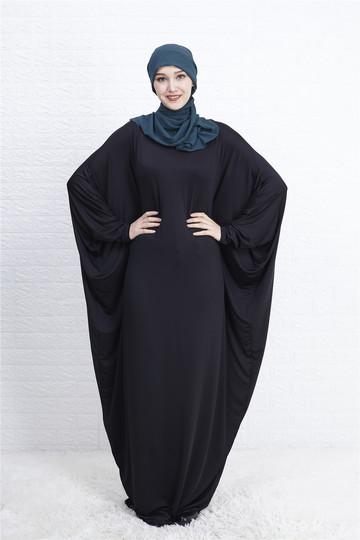 f3b6b0f802822 Muslim Abaya Bat Sleeve Maxi Dress Cardigan Loose Long Robe Gowns Ramadan  Islamic Prayer Clothing m