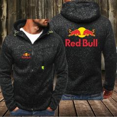 NEW Red Bull Racing Mens Hoodie Motorcycles Team Hoodies Casual Zipper Sweatshirt Hoodies black m