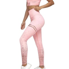 Women's Running Sport Jogging Leggings Sweatpants Gym Yoga Pants S Pink