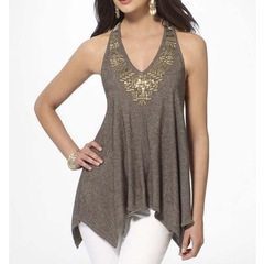 Hot style sexy vest top grey s