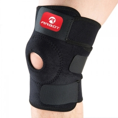 Outdoor sports, warm running, basketball, cycling, fitness, knee pads. Black one