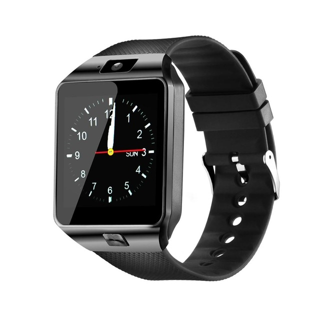 Bluetooth Smart Watch Smartwatch DZ09 Android Phone Call Relogio 2G GSM SIM TF Card Camera Black one size