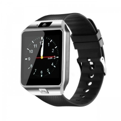 Bluetooth Smart Watch Smartwatch DZ09 Android Phone Call Relogio 2G GSM SIM TF Card Camera Silver one size