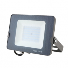 LED Outdoor Flood Light 70W High Quality Anti-glare Waterproof Flood-Light warm white square 70w