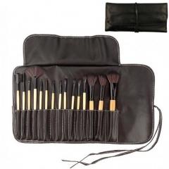 15pcs/Set Makeup Brush Eyebrow Brush/Eye Shadow Brush/Powder Brush/Lip Brush Makeup Tools brown