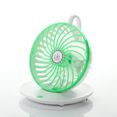 Personal Desk Desktop Table Cooling Fan Coffee cup Mini USB office desktop USB portable fan Green