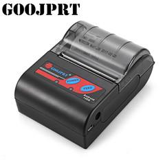 MTP-II 58MM Bluetooth Thermal Printer Portable Receipt Machine Support ESC / POS Multi-Language Black