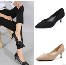 be689351da4a Black professional high-heeled women s shoes Black leather 3 cm heel 36   Product No  1684197. Item specifics  Brand