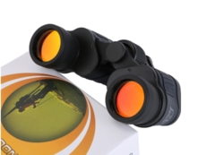 60x60 binocular night vision band coordinate high power high definition red film telescope one size one size