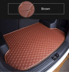 Car backrest box cushion suitable model Toyota Beijing hyundai ix35 Honda comparator brown monolayer