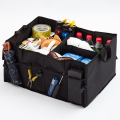 Multi-function folding packing box Oxford cloth storage box - woven storage box black surrounded by all