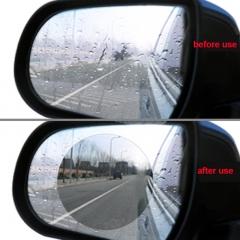 Rainproof film for car rear view mirror Automotive anti-fog film looks into 145 * 100 membrane car white 98*98