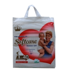 Softcare Diapers, Premium Baby Diapers large (40 diapers) large