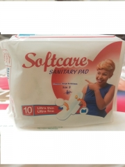 SOFTCARE SANITARY PADS 10pcs