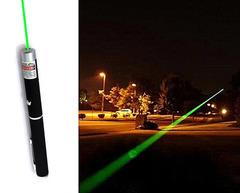 Laser Pointer Pen Lazer 532nm Visible Beam Light 5MW High-Powered Military Green