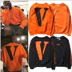 Fashion off white Men Women Hoodies swearshirts Casual Sport  Hip Hop Long Sleeve Hooded superstar black M