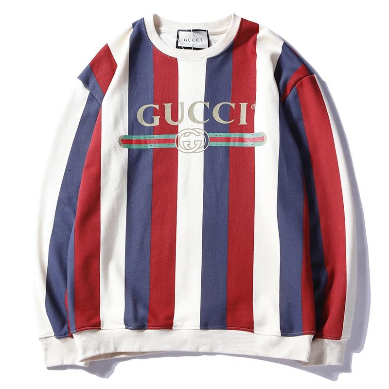 Fashion gucci streetwear casual american europe Men Women Hoodies ... 4110940a7