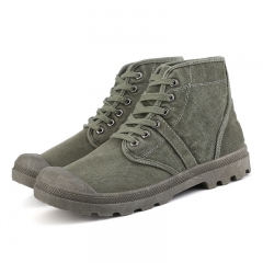 High Quality Paladin Martin Boots Safety Boots Suede Shoes Non-Slip Wear Resistant Army Green 43