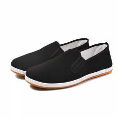 Hot Sale Spring Autumn Comfortable Men'S Shoes Casual Breathable Classic Old Beijing Cloth Shoes Men black 38
