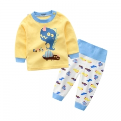 Comfortable Close-fitting Spring Autumn Baby Clothing High Waist Cotton  Clothing Baby Tyrannosaurus 50