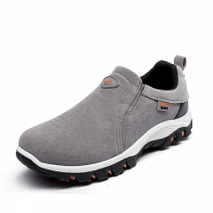 Mens Comfortable Casual Shoes Men Fashion Sneakers For Men Outdoor Running Shoes Safety Shoes gray 39