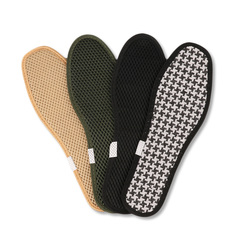 Bamboo Charcoal Insole Sweat-absorbent Breathable Men And Women Mesh Insoles random color 46