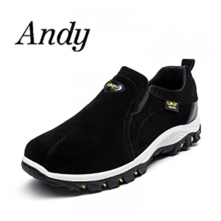 Mens Comfortable Casual Shoes Men Fashion Sneakers For Men Outdoor Running Shoes Safety Shoes black 40