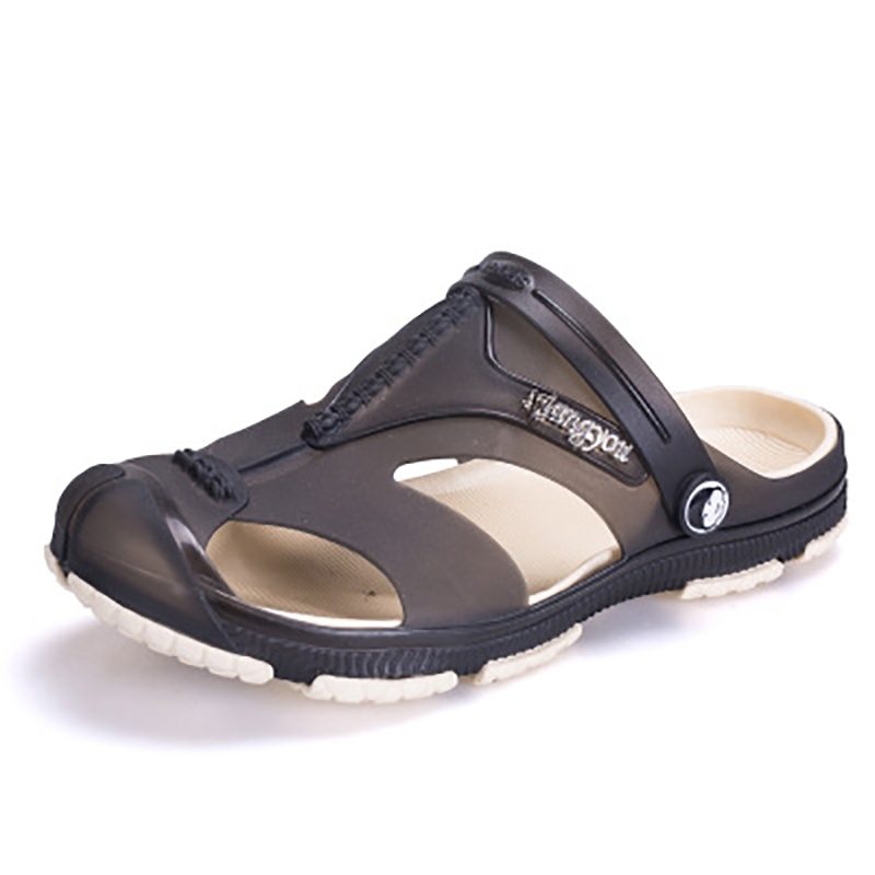 46909570cb4e9 Product details  Upper material  breathable resin. Sole Material  Rubber  Style  Sports Wearing style  buckle. Function  waterproof