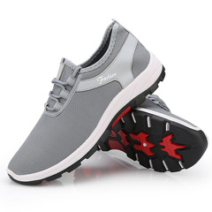 Men's Fashion Sports Shoes Soft Comfortable Breathable Casual Shoes Outdoor Non-slip Wear Shoes gray 40