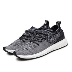 New Men'S Shoes Casual Shoes Fashion Footwear Men Lightweight Comfortable Mesh Sneakers Men Shoes dark gray 45
