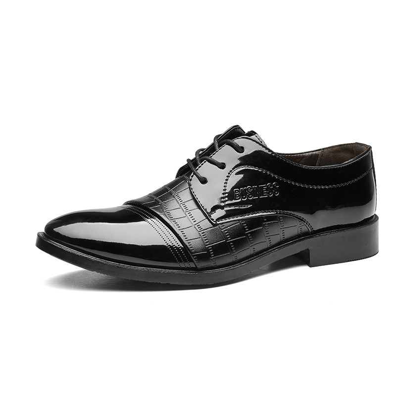 1abd7e6d1cf New Leather Oxford Business Men Shoes Lace Up Formal Shoes Men Shoes  Pointed Toe Men Dress Shoes black 38 pu  Product No  10867933. Item  specifics  Brand