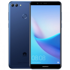 New HUAWEI Y9 2018  5.93'' Android 8.0 Mobile Phone 4000mAh FingerPrint 4Cameras 4+64g blue