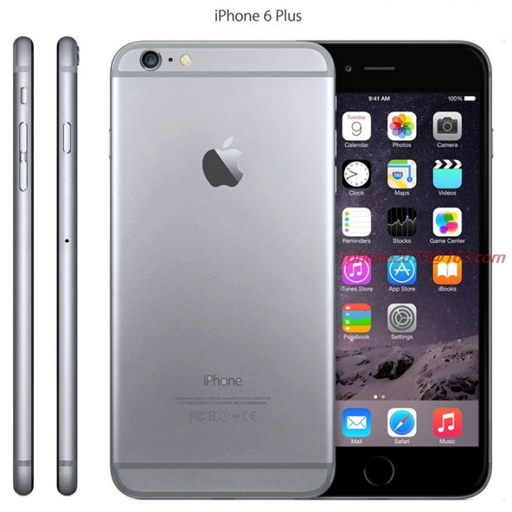 Refurbished genuine Apple iPhone 6 Plus Mobile Phone GSM WCDMA LTE 16/64/128GB 5.5'IPS SmartPhone 16g grey