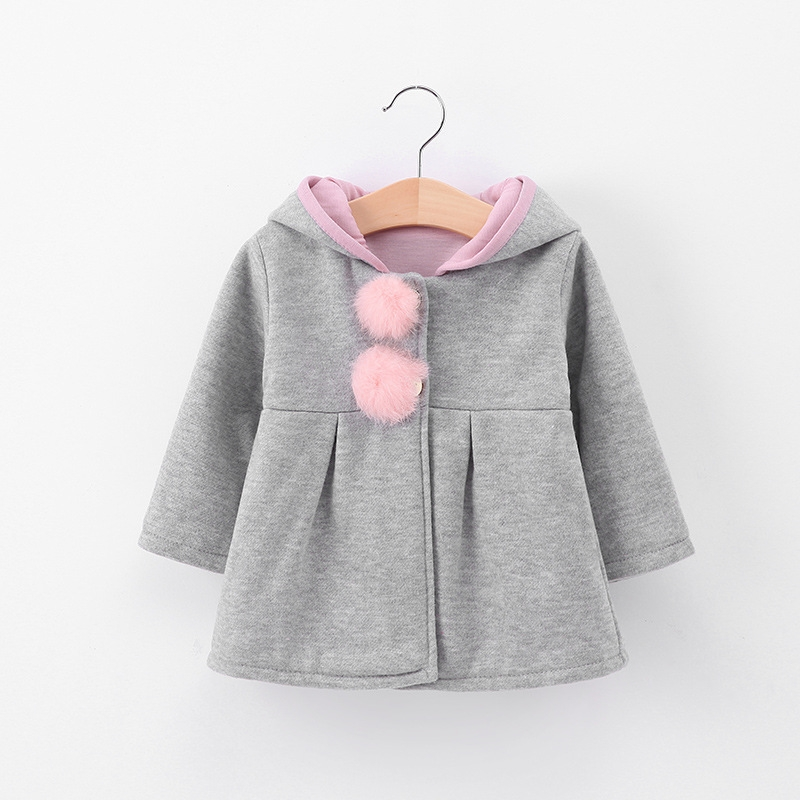 a4932fbd02ac Girls 2018 spring and autumn and winter new children s cotton rabbit ...