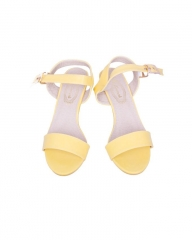 Classy and elegant ladies Wedge shoes with straps ZK-4 yellow 40