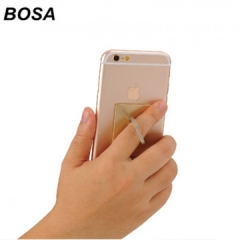 Universal 360 Degree Rotating Finger Ring Phone Stand Holder for Cell Mobile Phone random color 4x3.5